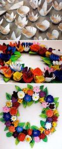 fleurs-papaier