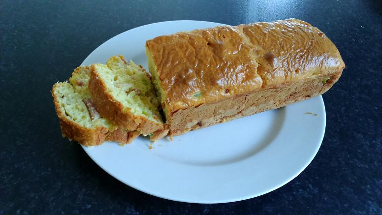 recette cake courgette