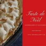 recette tarte de noël aux pommes et au miel