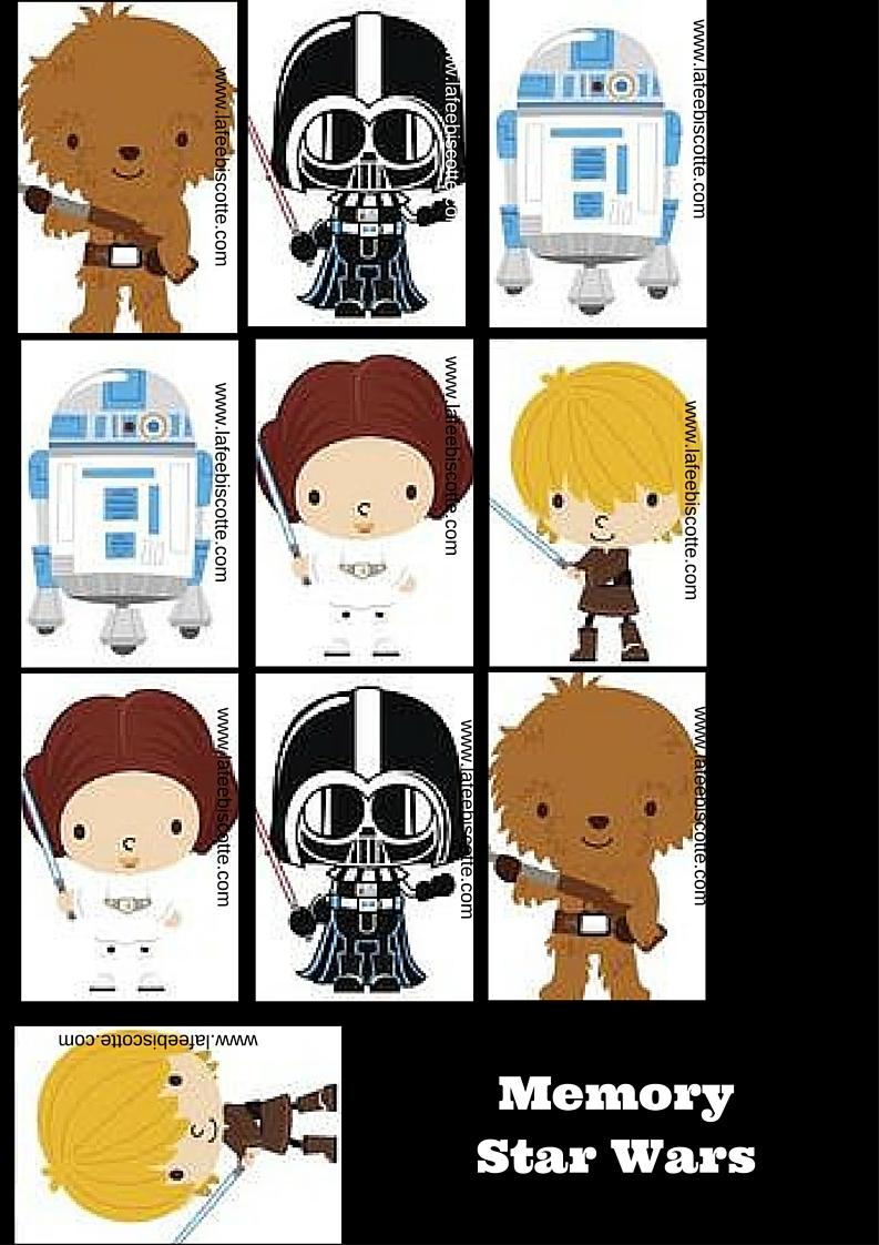 activité gratuite pour enfants star wars