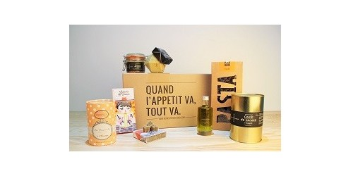 coffret bonjour french food