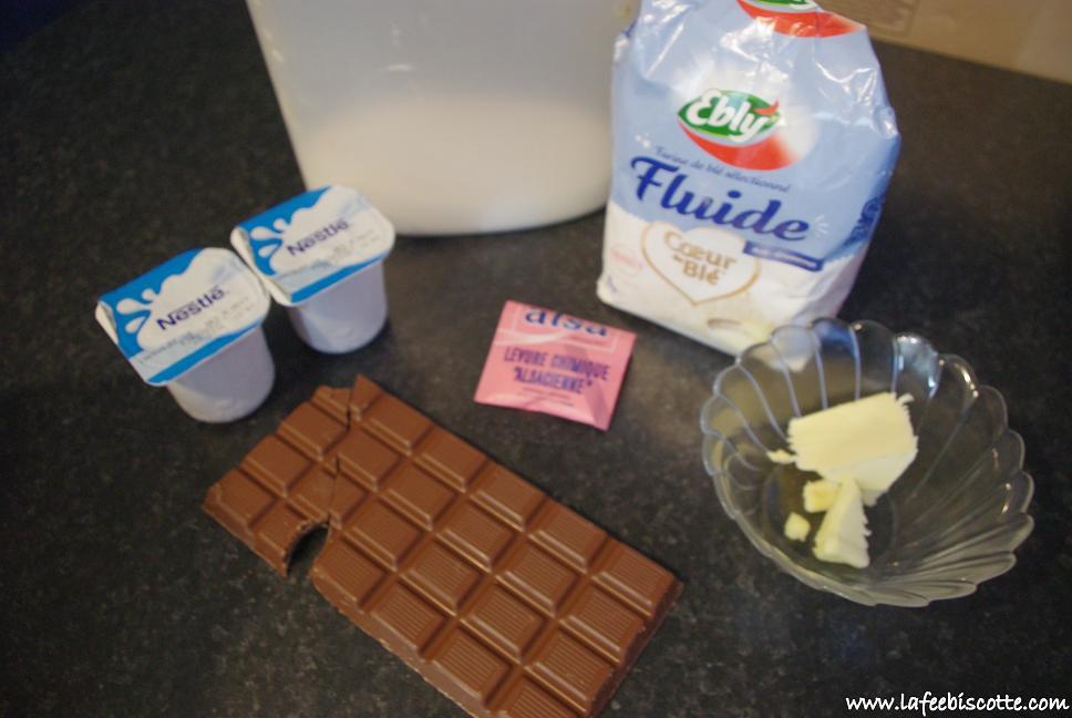recette moelleux chocolat sans oeufs
