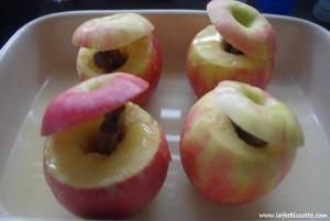 recette pomme au four carambar