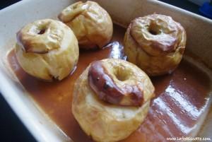 recette pomme au four
