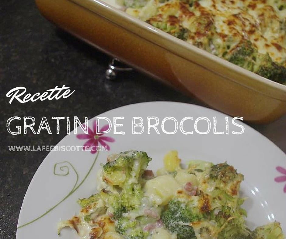recette brocolis