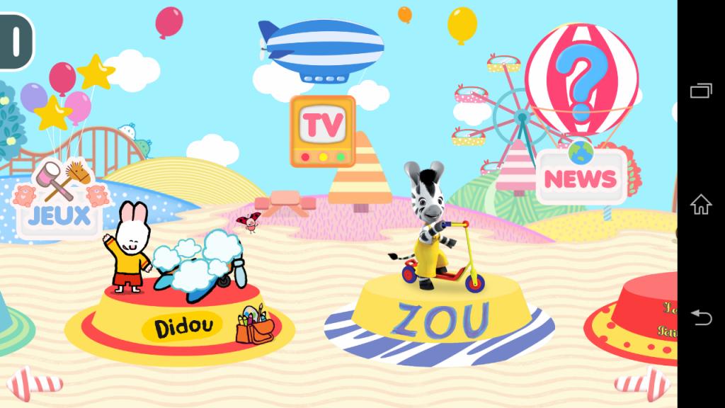 okidokit tv application pour enfant
