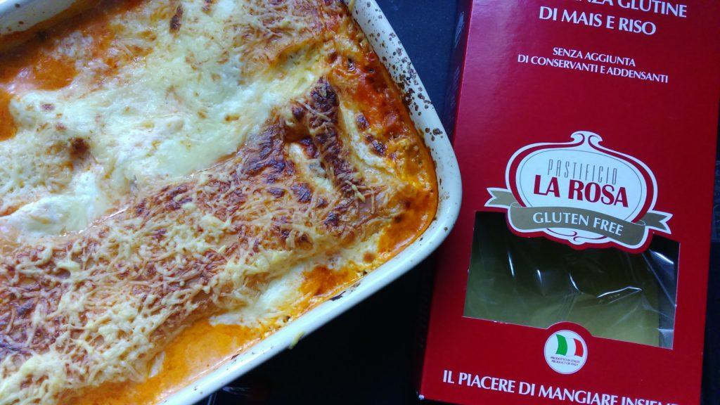 lasagne La rosa sans oeuf
