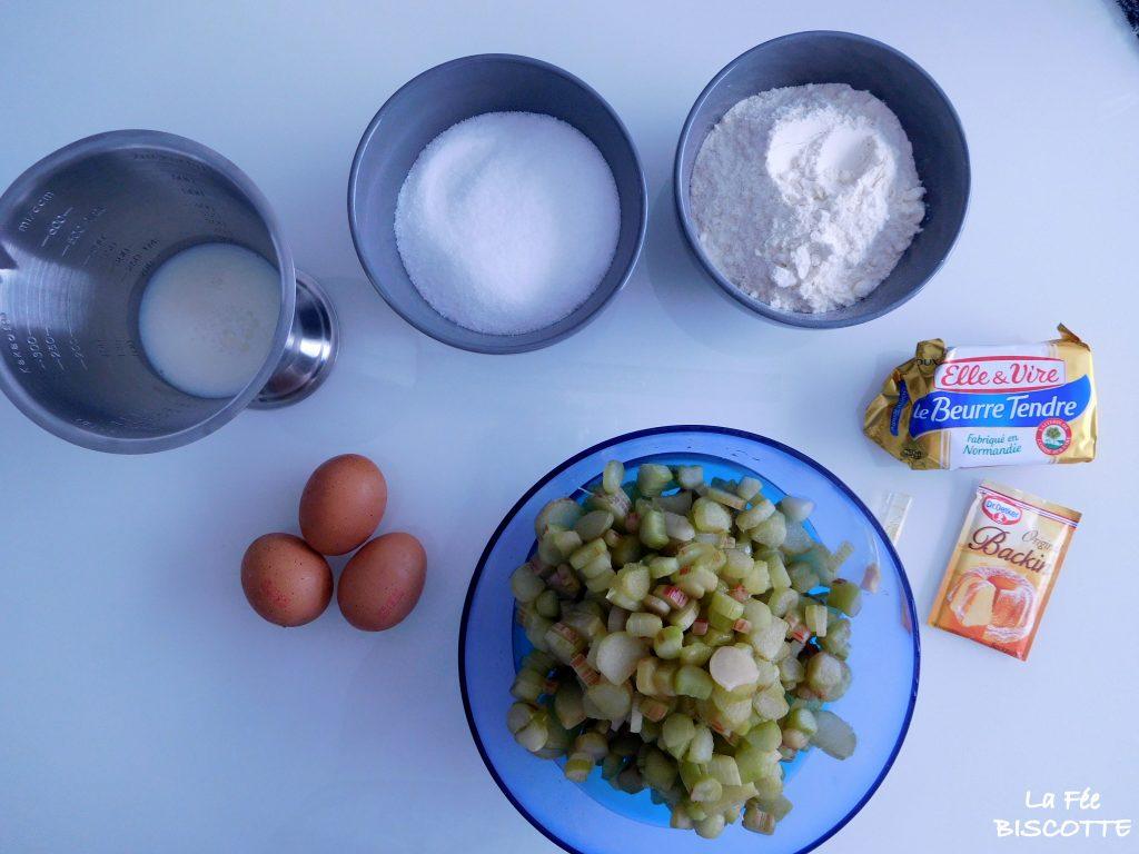 gâteau-rhubarbe-recette-facille