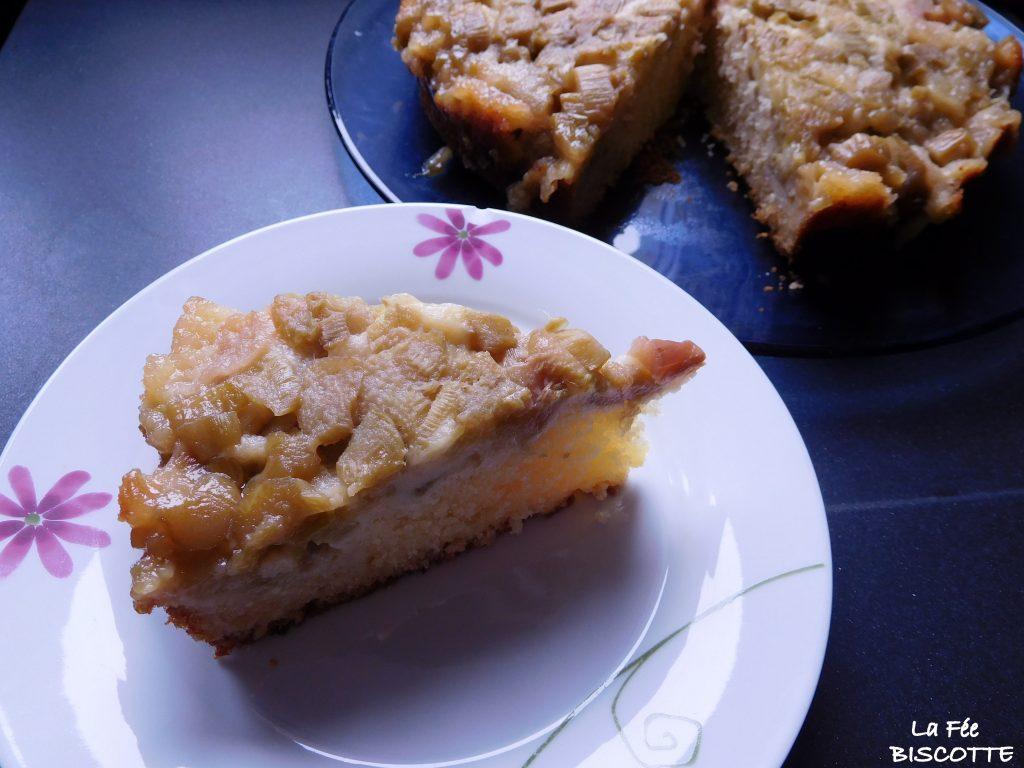 gâteau-rhubarbe-recette-facile