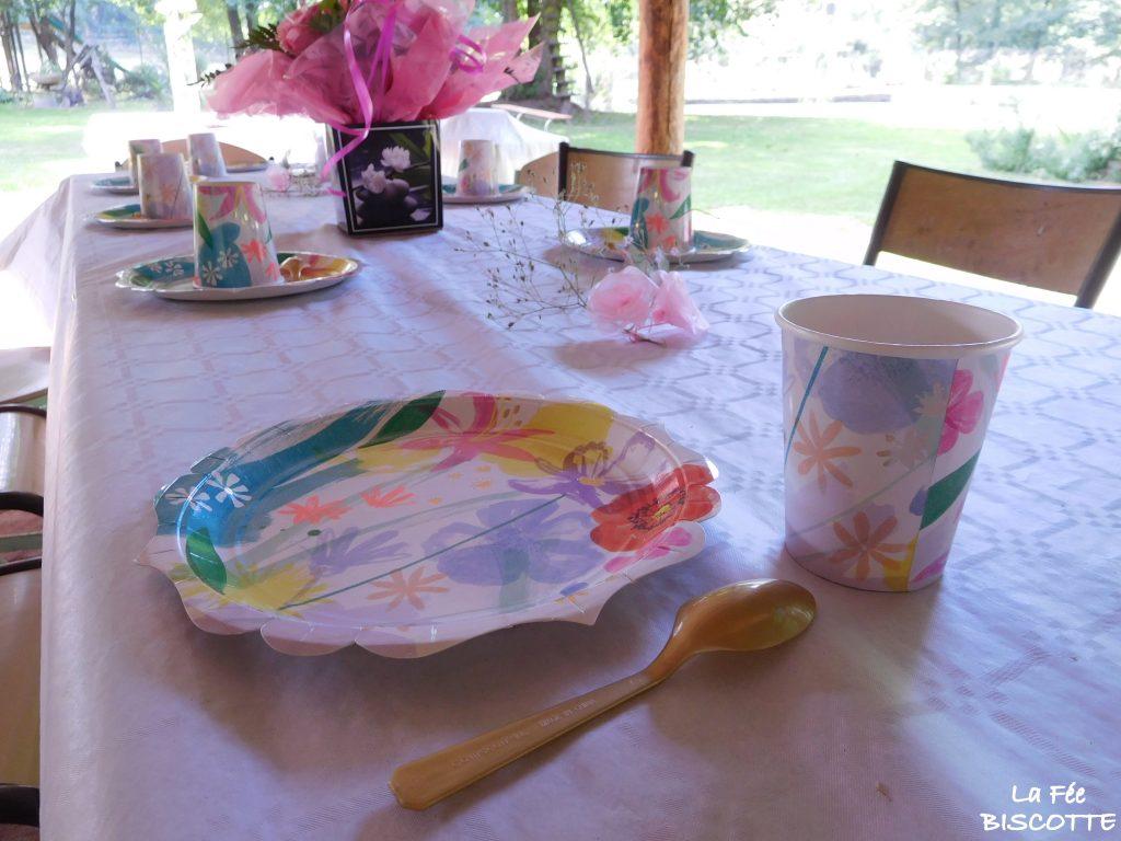 décoration-table-fleurs