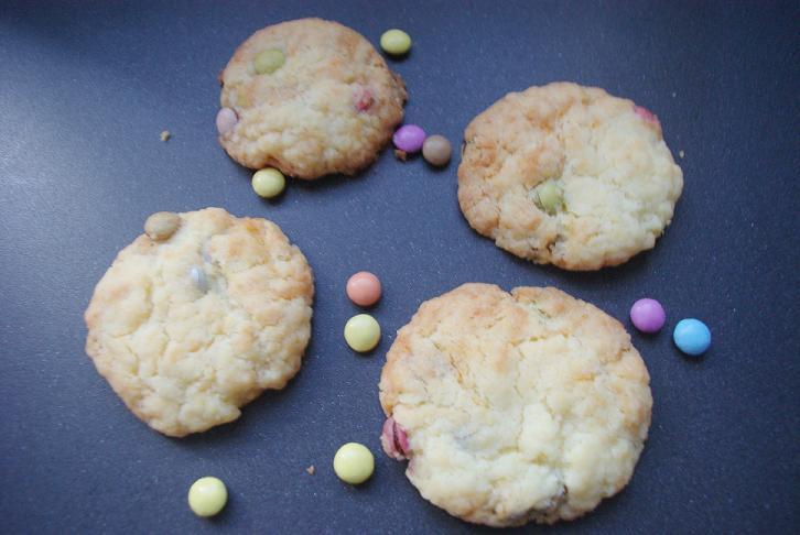 cookies-smarties-facile