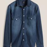 chemise jeans esprit homme