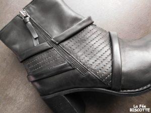 chaussure cuir noire