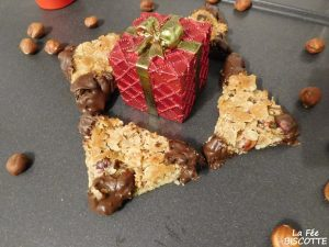 recette biscuit triangle à la noisette