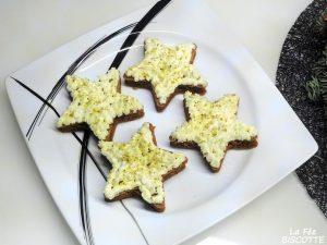 étoile moelleuse café pistache
