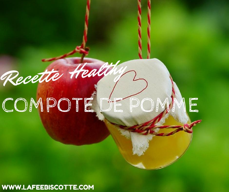 recette compote de pomme