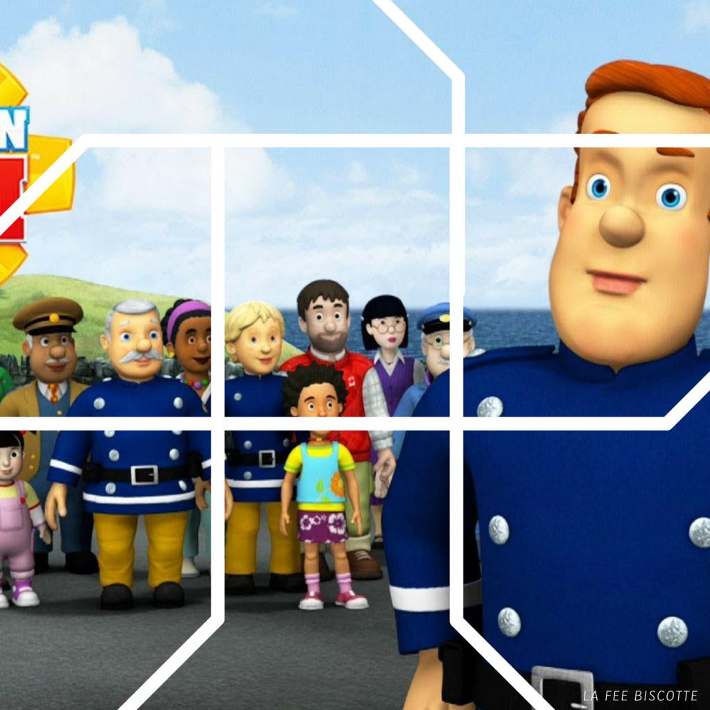 puzzle sam le pompier gratuit