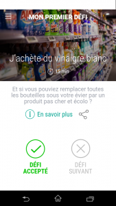 application écologique