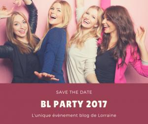 BL party soirée blogueuse