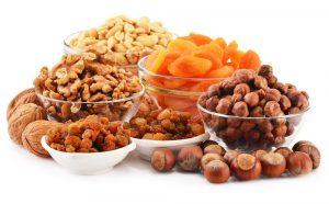 consommer régulièrement des fruits secs