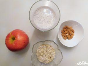 recette porridge pomme et amande