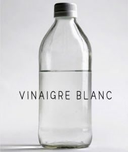 nettoyer avec du vinaigre blanc
