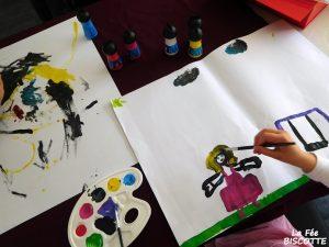 peinture pour enfant lavable