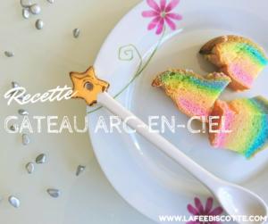 gâteau arc en ciel ou licorne