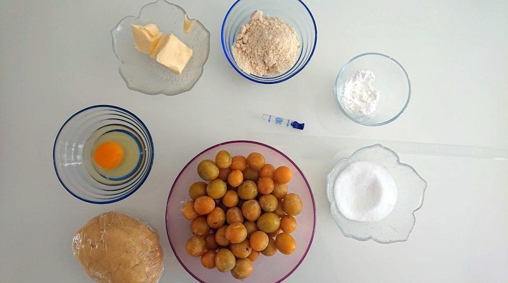 recette facile tarte mirabelles et amandes