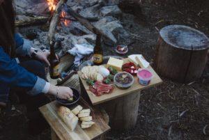 quoi manger au camping