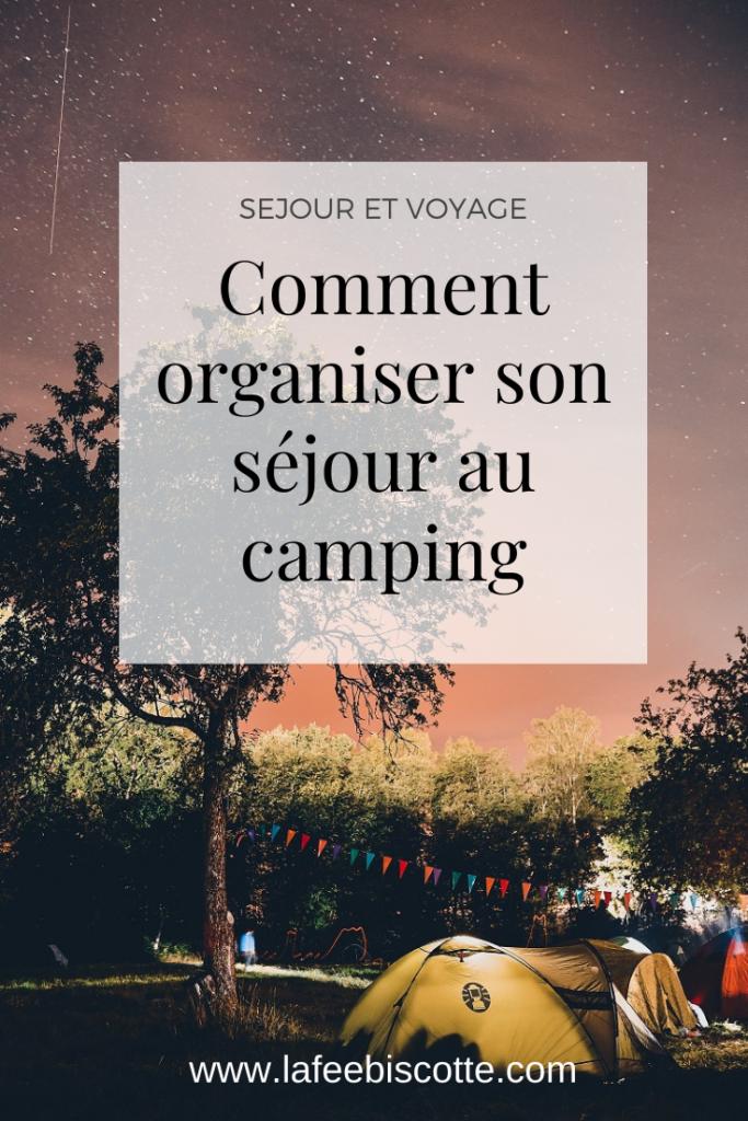 organiser ses vacances au camping